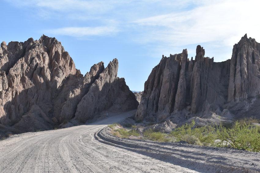 Quebrada de Las Flechas, Salta. RN40.
