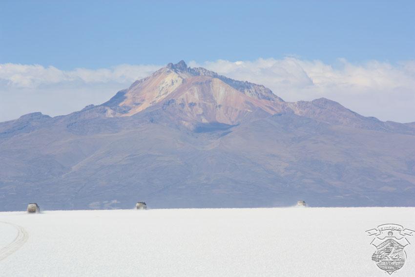 Imponente Volcan Tunupa