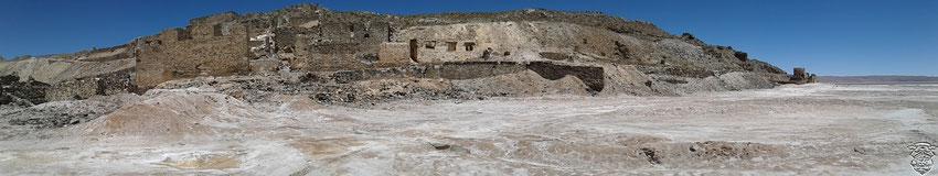 Las ruinas Jesuíticas.