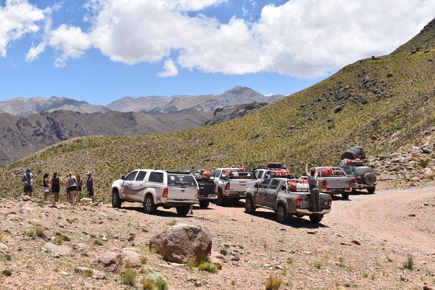 Cordillera de San Buenaventura. Catamarca.