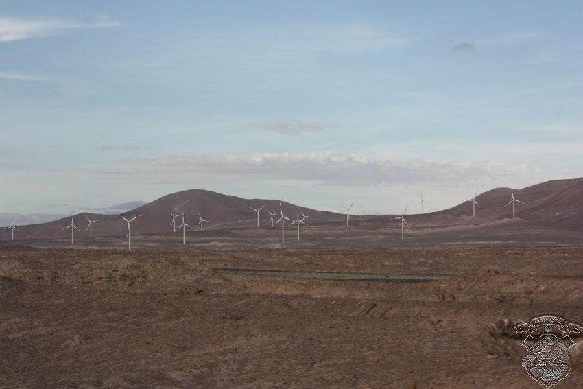 Los parques heólicos a lo largo de todo Chile, un ejemplo de inversión en energía limpia y sustentable.