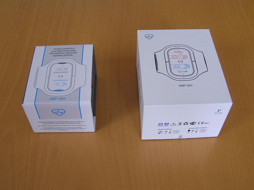 alte und neue Verpackung des Inferum ABP 051