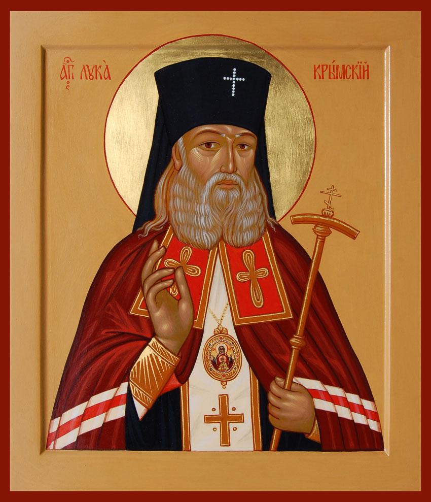Ikone des heiligen Luka.