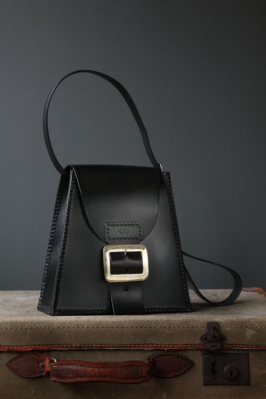 Platform Satchel luxury leather ladies black shoulder crossbody bag formal casual