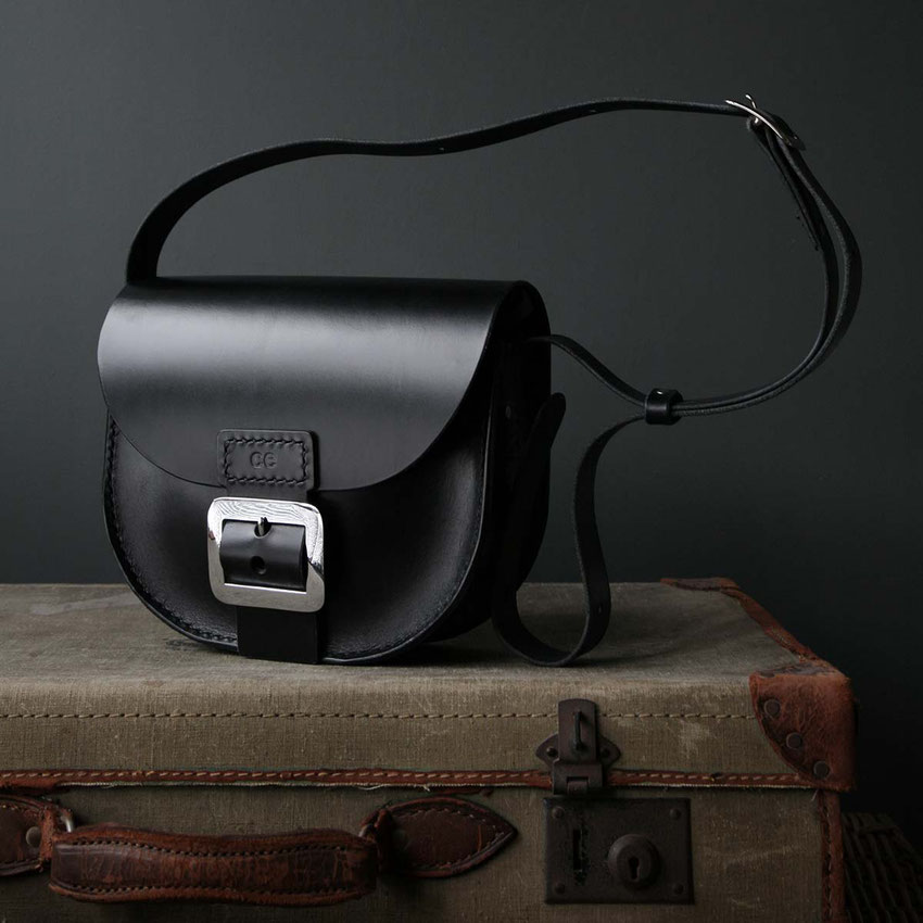 leather saddlebag satchel