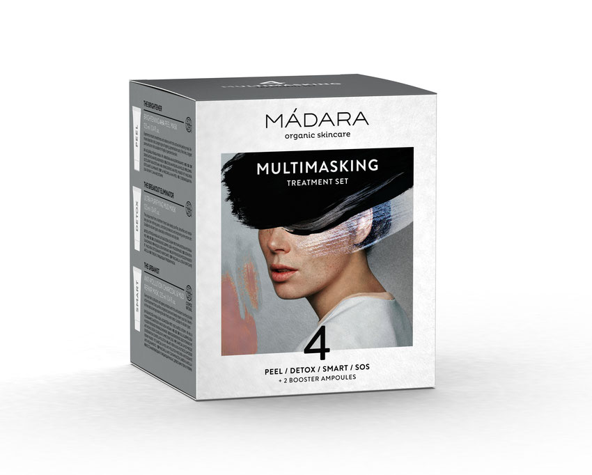 Gesichtsmasken und Multimasking von Mádara Organic Skincare