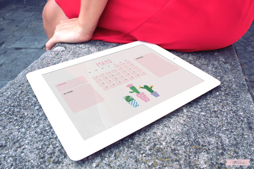 FREEBIES de calendario by Sami Garra