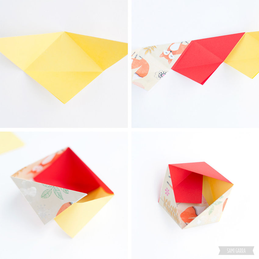 CRAFTERNOON: Origami Boxes! by Sami Garra