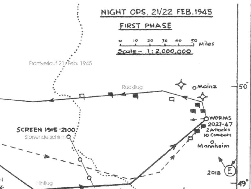 Angriff auf Worms, 21./22. Feb. 1945