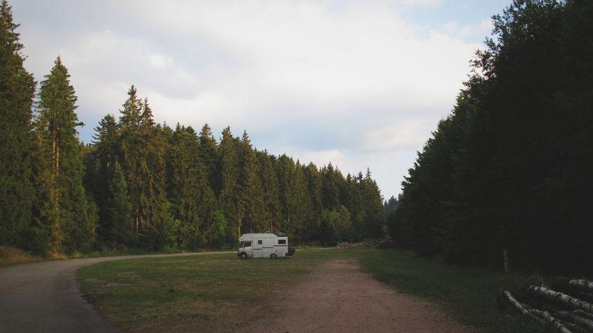 bigousteppes allemagne camion mercedes schluchsee forêt lac