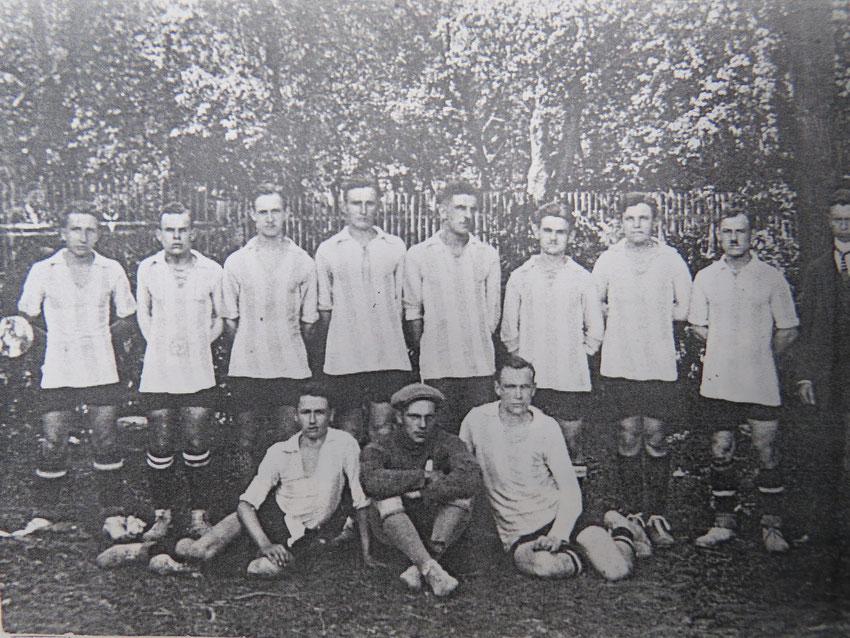 Gründungsmannschaft 1919.