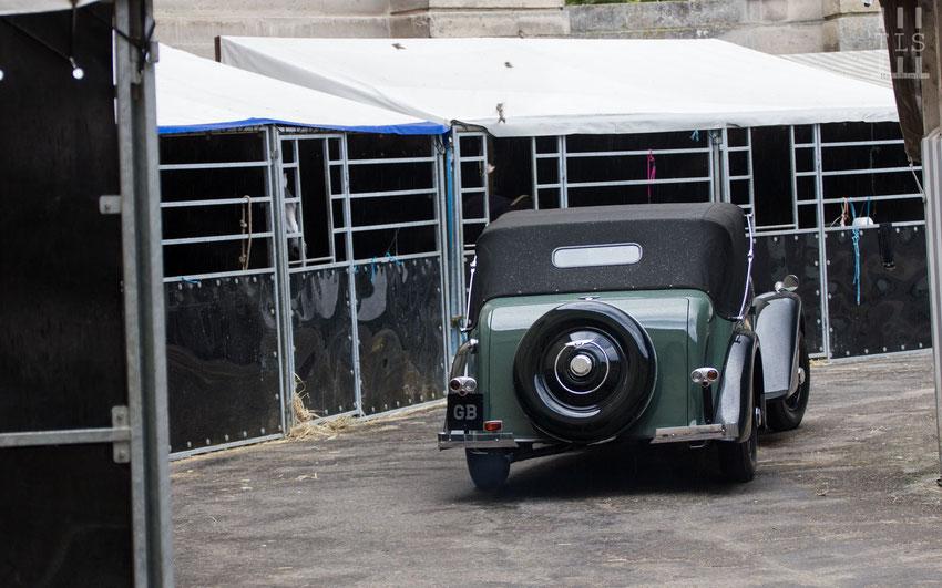 Bentley 4¼-Litre cabriolet châssis n° B105MX
