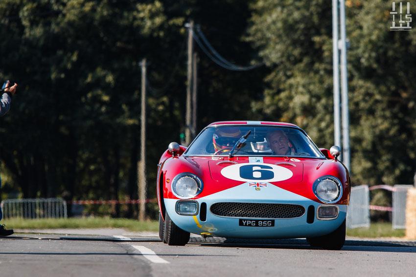 Ferrari 250 LM - Les Grandes Heures Automobiles 2015, Montlhery