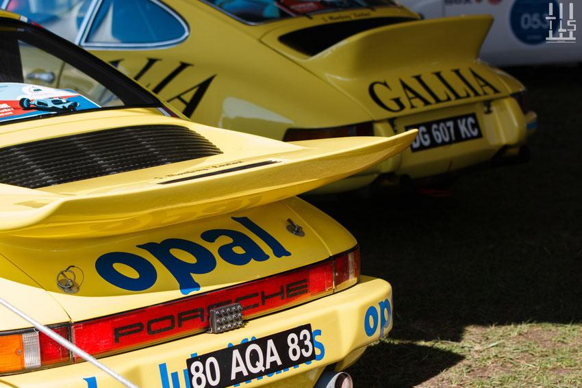 Les Porsche 2.8L RSR et 3.0L RSR de Michel Lecourt ! - Les Grandes Heures Automobiles 2015, Montlhery