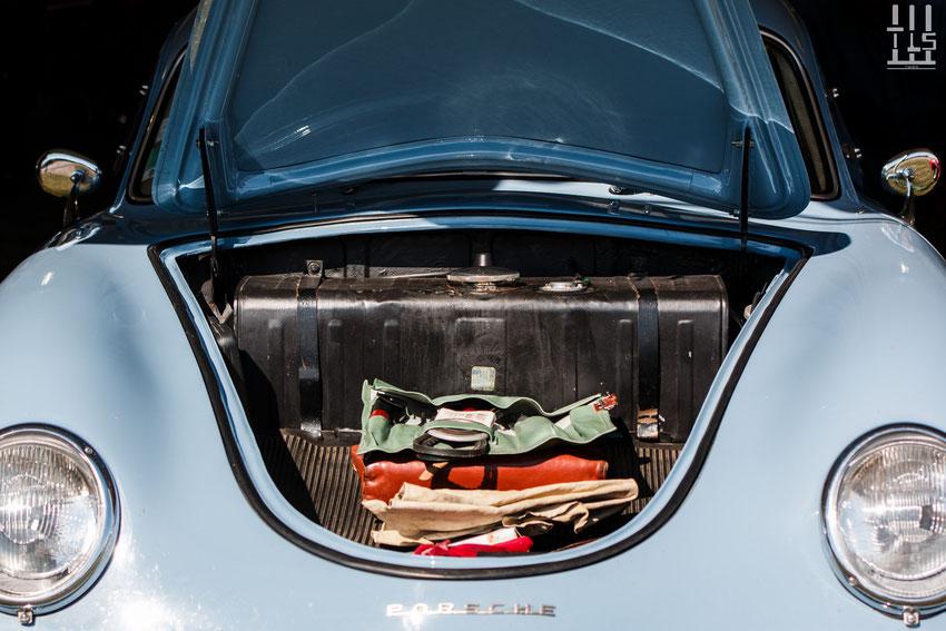 Porsche 356A - Les Grandes Heures Automobiles 2015, Montlhery