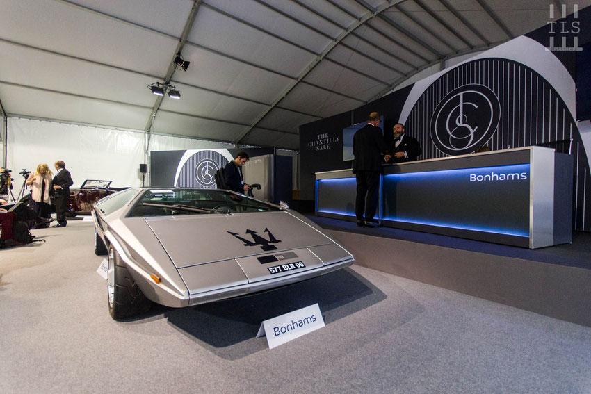 Maserati Boomerang coupé châssis n° 081