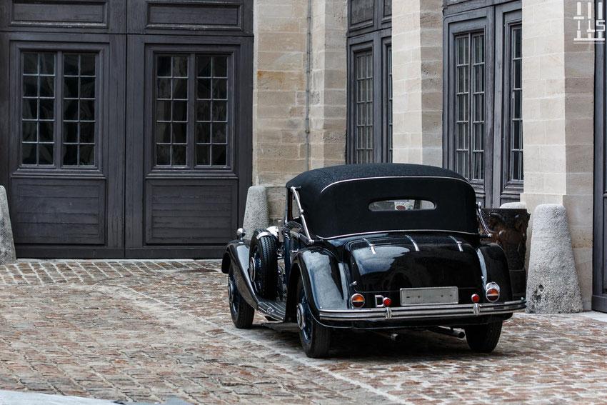 Mercedes-Benz 500K Cabriolet C châssis n° 113658