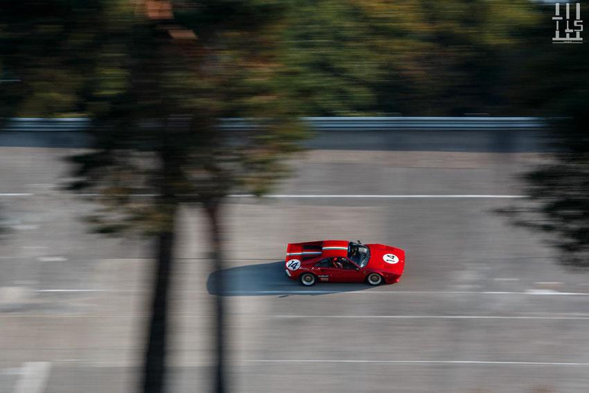 Ferrari 308 GTB - Les Grandes Heures Automobiles 2015, Montlhery
