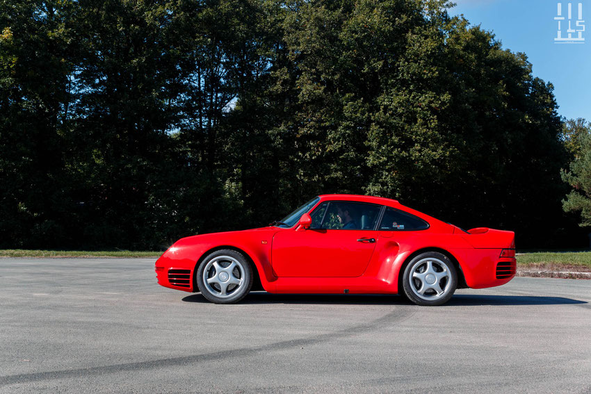 Porsche 959 - Les Grandes Heures Automobiles 2015, Montlhery