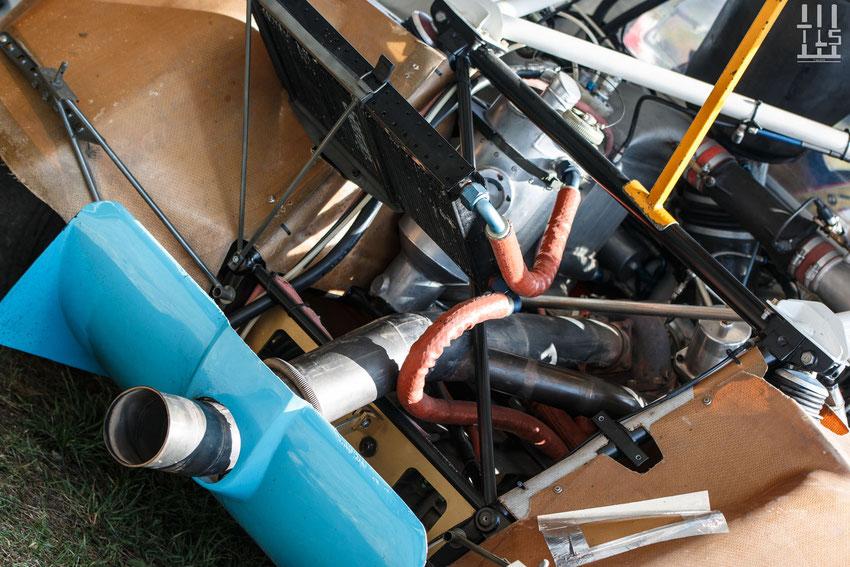 Peugeot 205 Turbo 16, vu de l'intérieur...