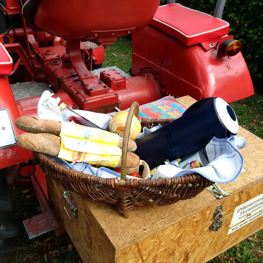 Picknickkorb für Zwei