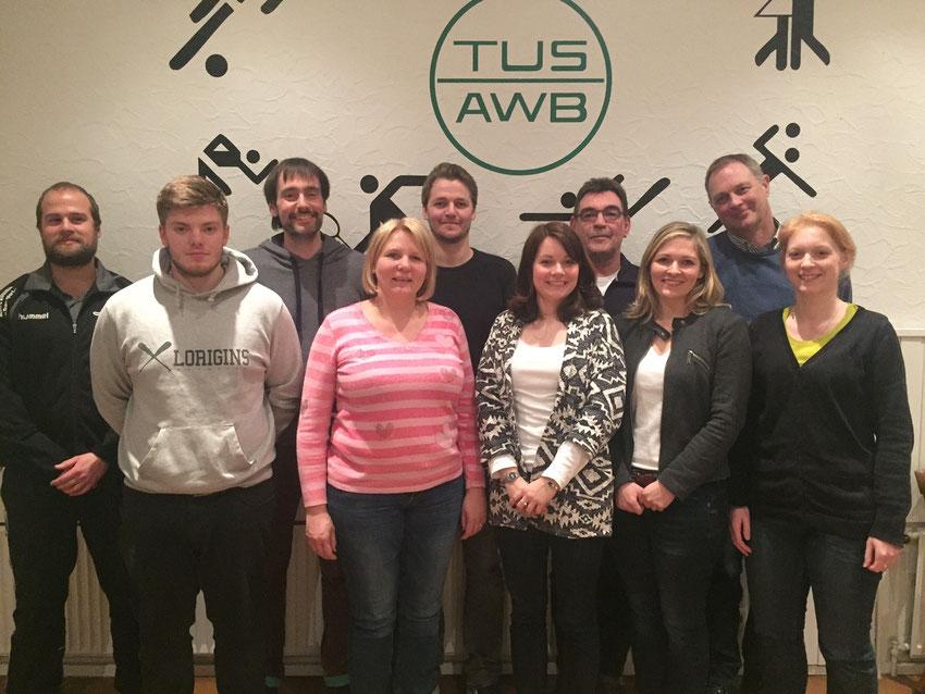 Vorstand der Handballabteilung TuS Altwarmbüchen