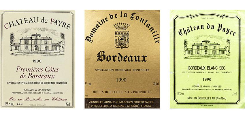 chateau du payre, vin de bordeaux, millésime, maison d'hôte, dégustation gratuite, visite du chai