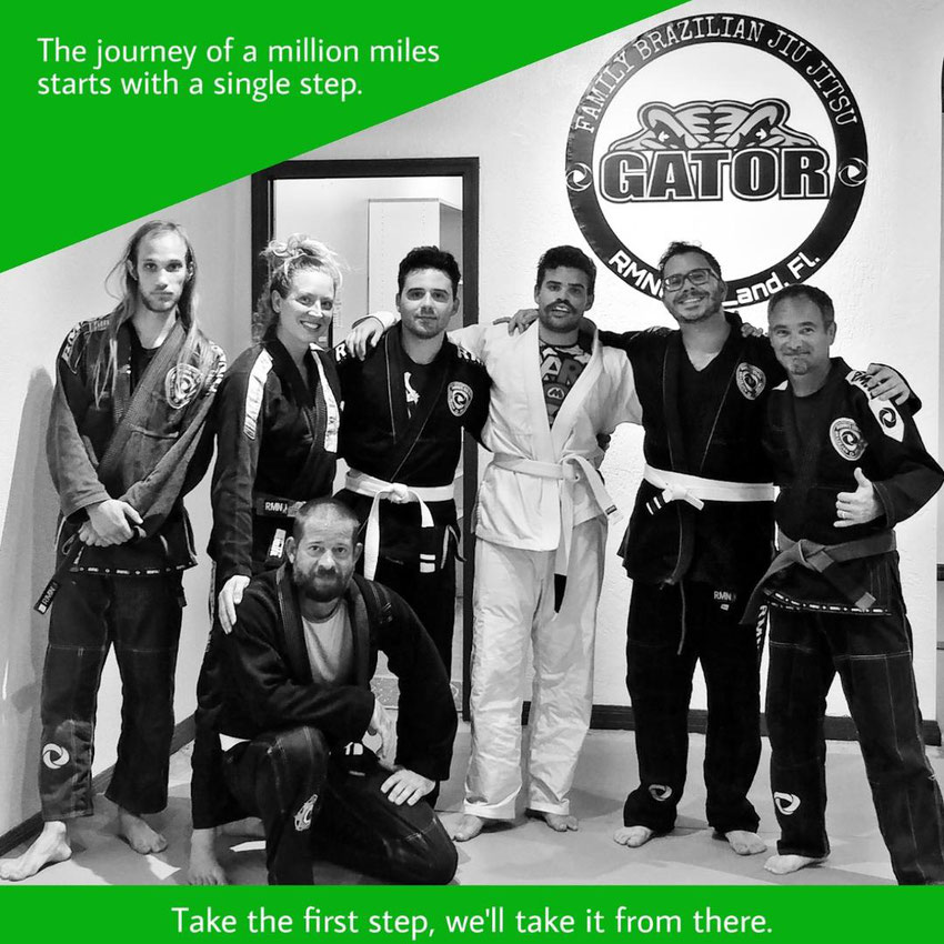 Adult program at gator family brazilian Jiu-Jitsu Deland Florida