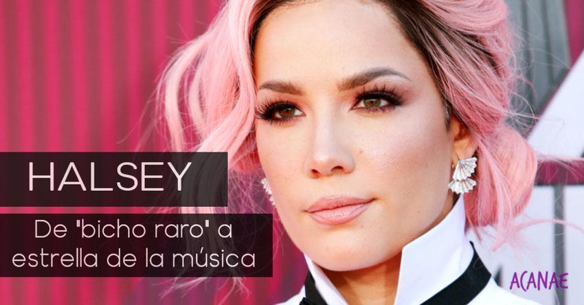 """Halsey y la superación del bullying que sufrió: De """"bicho raro"""" a estrella de la música"""