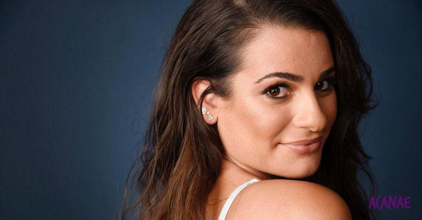 Lea Michele  y su historia de superación del bullying que sufrió en su infancia