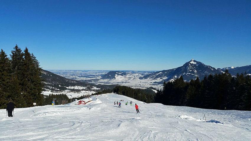 Skifahren im Allgäu