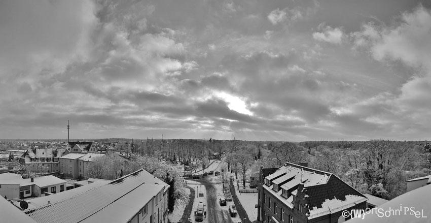 Templin Stadt von oben