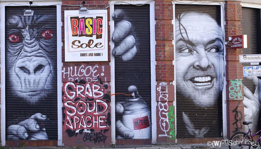 Street-Art vom Feinsten in der Oranienstraße