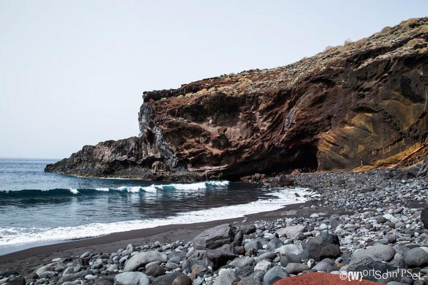 der Strand von Callejoncita