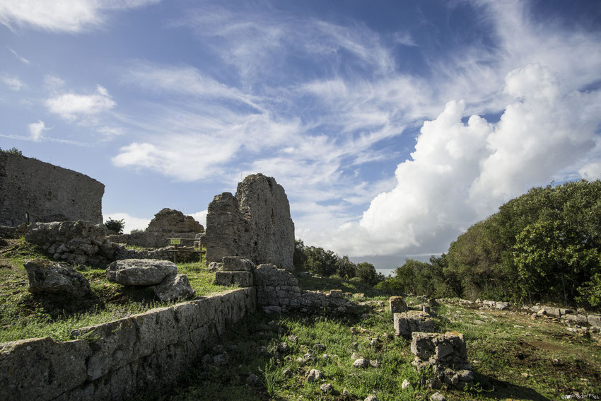 eine etruskische Ausgrabungsstätte, spannend aber man braucht auch viel Vorstellungskraft