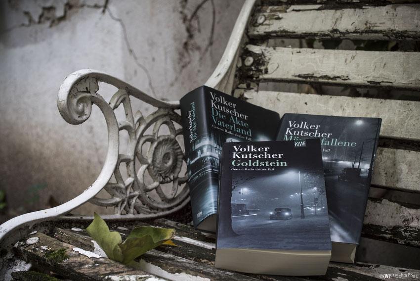 fast alle auf einem Fleck - die drei letzten Teile der Gereon Rath-Reihe von Volker Kutscher erschienen im KiWi-Verlag