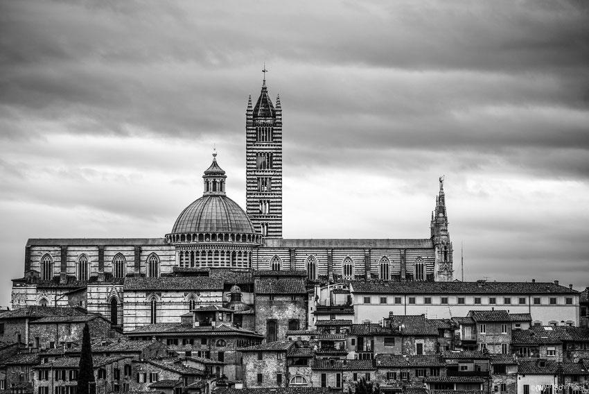 Ausblick auf den Dom von Siena