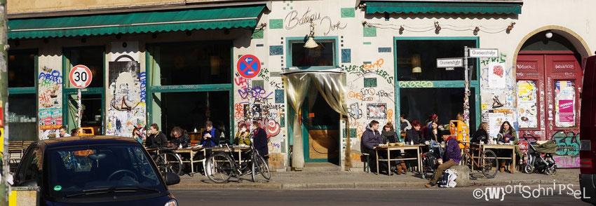 typisches Bild von Kreuzberg am Tage