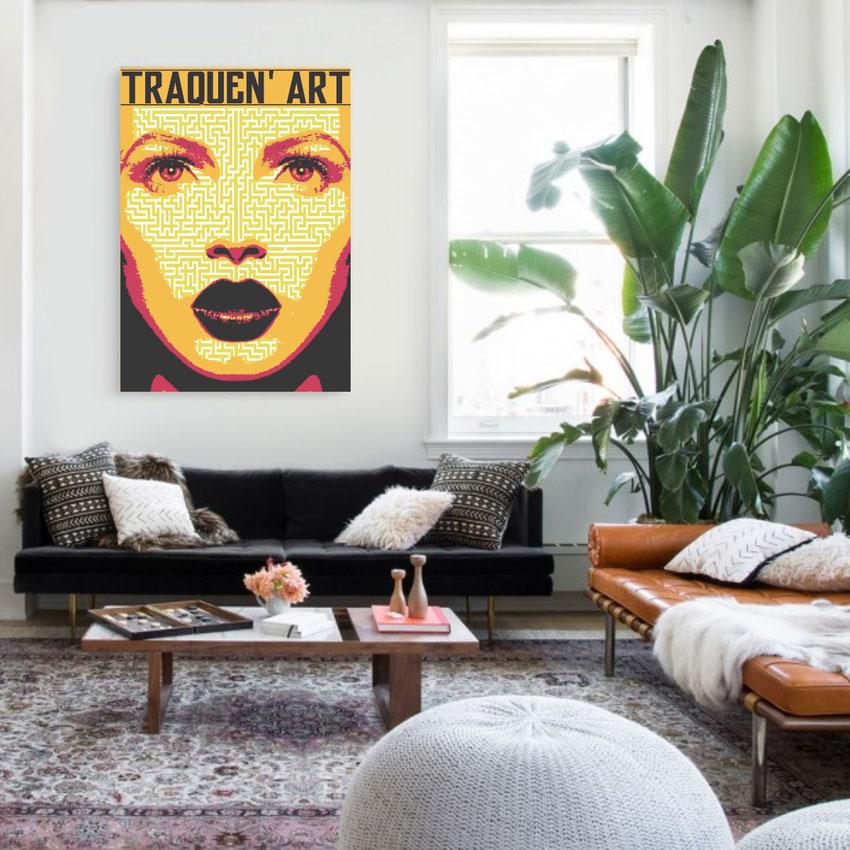 tableau-street-art-visage-mode-2021-femme