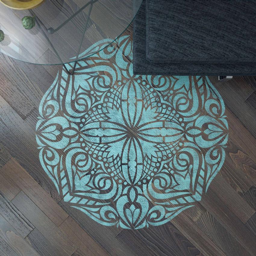 pochoir peinture murale deco envoutant peinture au pochoir sur mur 20 nice pochoir peinture. Black Bedroom Furniture Sets. Home Design Ideas