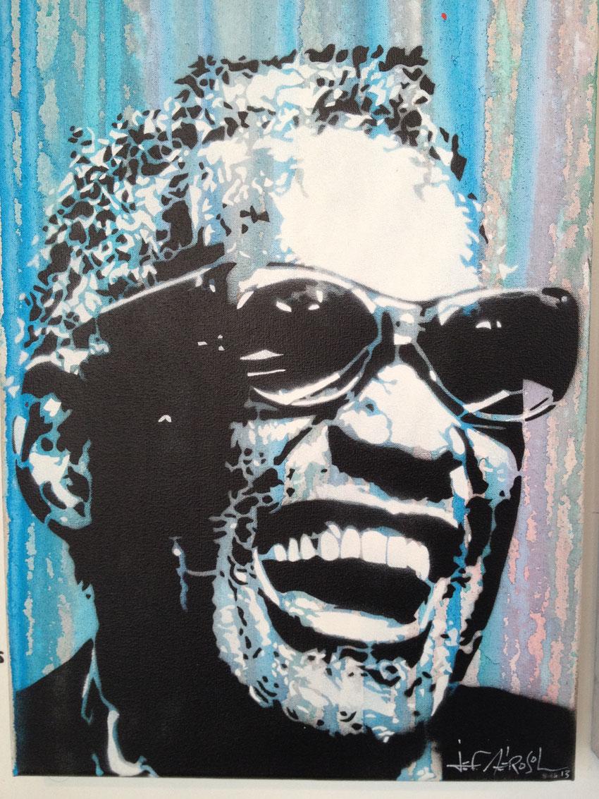 jef aérosol ray charles street art