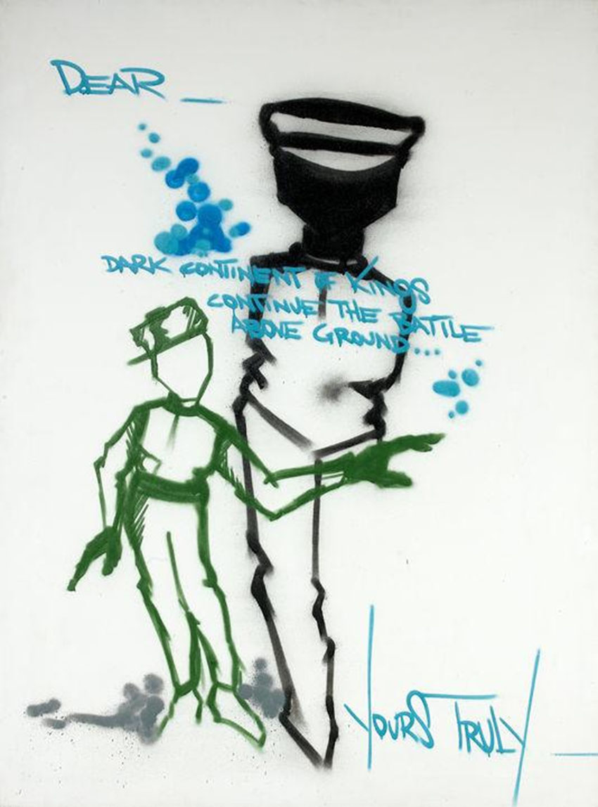 Dondi dark continent of kings record vente encheres street art