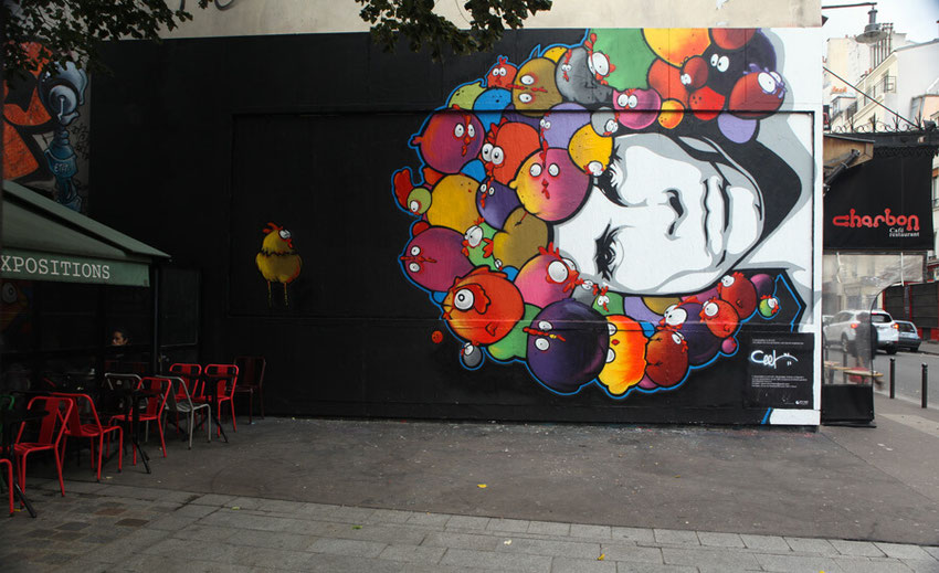 le mur asso street art the doors paris