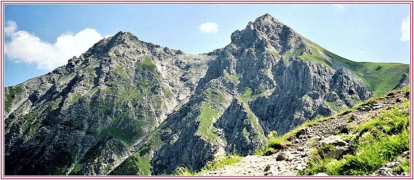 Aufstieg zum Lünersee, Montafon, Vorarlberg