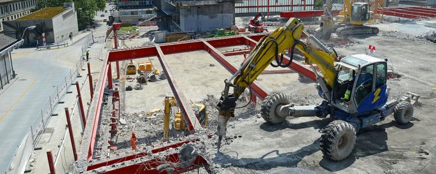 Bauüberwachung von Sanierungsmaßnahmen für Privat, Industrie- und öffentliche Hand