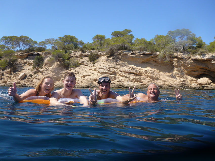 Zwemmen Cala Tarida