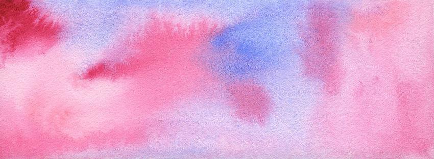 水彩画「あの日の空」