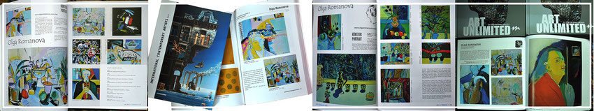 Ольга Романова,  Ostwind, International Contemporary Artist Vol. VI, 101 CONTEMPORARY ARTISTS