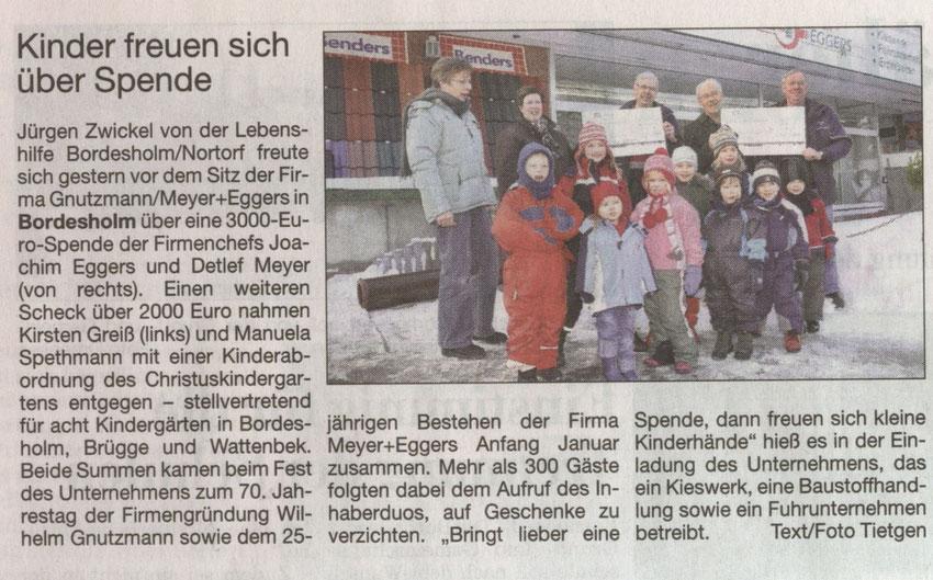 @ Kieler Nachrichten 12/2012