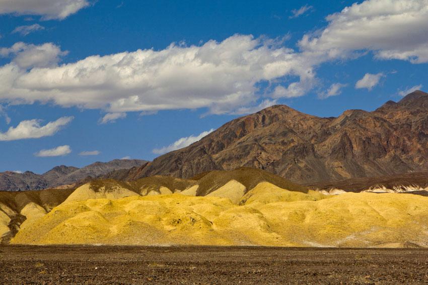 Tyla ir karštis Mirties slėnyje spaudžia ausis / Foto: Kristina Stalnionytė